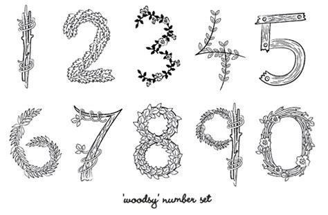 printable rustic fonts diy rustic wedding table numbers 187 eat drink chic