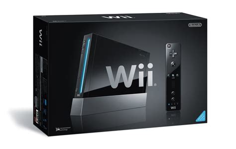 nintendo wii console black the black wii will come in a black box techcrunch