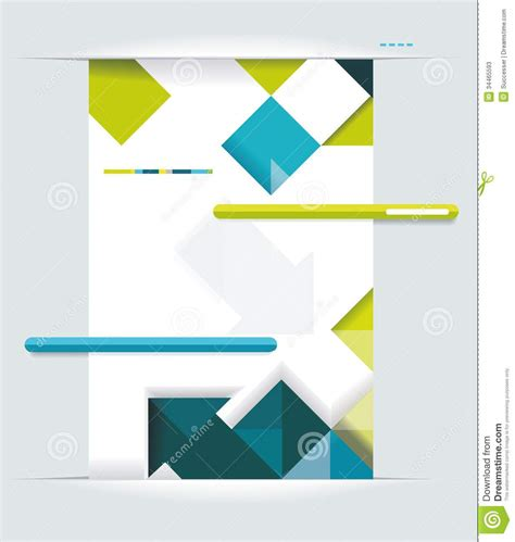 design cover with name modern web design stock illustration illustration of