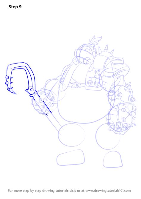 doodle drawings how to learn how to draw roadhog from overwatch overwatch step