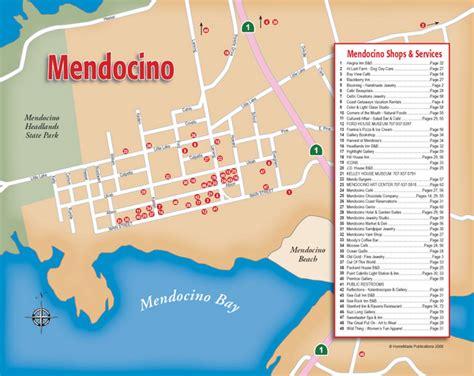 california map mendocino mendocino california map