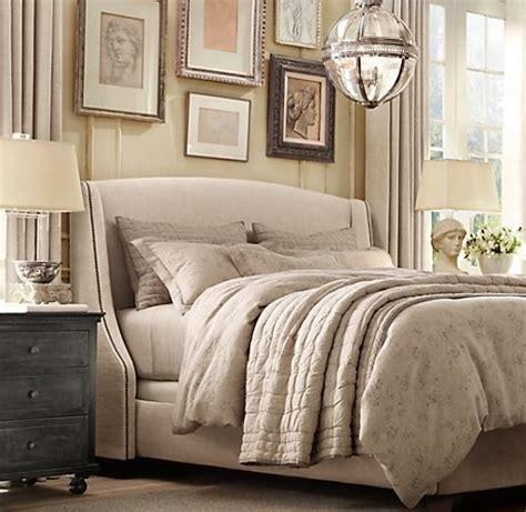 restoration hardware bedding restoration hardware tufted linen quilt bedroom ideas