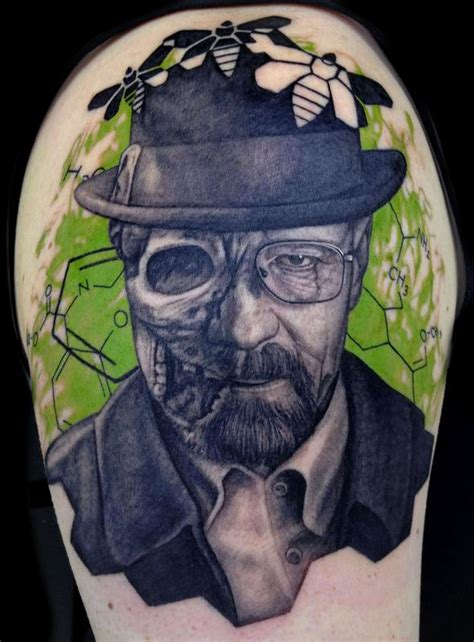 breaking bad tattoo by pepper tattoonow