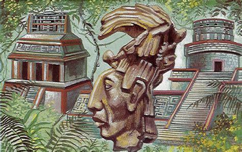 imagenes idolos mayas civilizacion maya mitos creencia y religion taringa