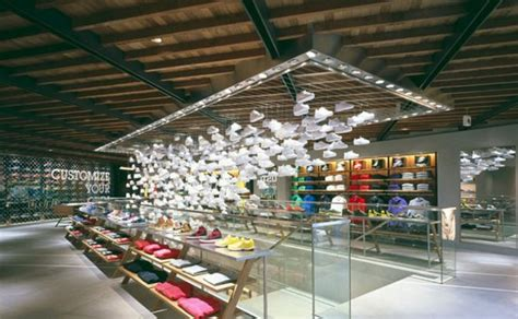 home design stores tokyo nike s flagship store in tokyo wonderwall