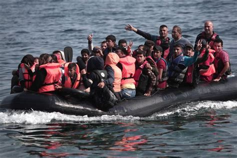 refugee boat sank when my refugee boat sank i swam to save lives now i m