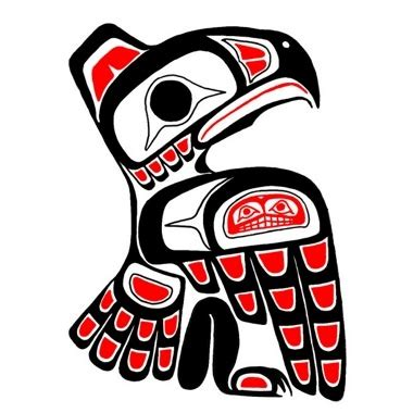 sitting raven haida tattoo here my tattoo