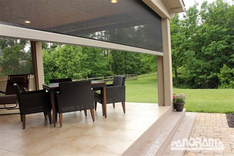 screens for patio patio lanai retractable screens stoett