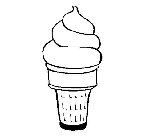 Colored Page Soft Ice Cream Painted By Ujj Dairy Products Coloring Pages