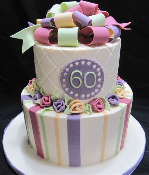 60th Birthday Cake by 109 Best Cakes 60th Birthday Images On