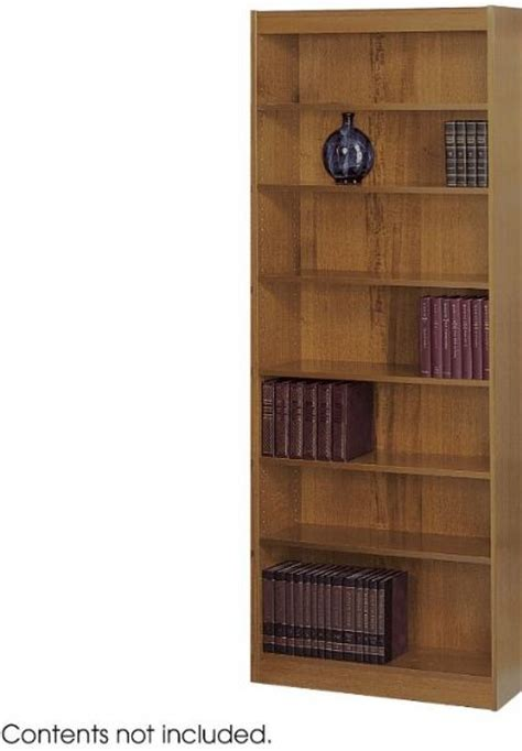 Safco 1516cy Veneer Baby Bookcase 1 8 Quot Back Panel 3 4