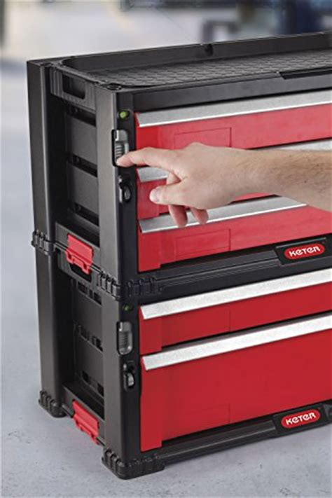 keter 5 drawer tool chest system keter 5 drawer modular garage and tool organizer and
