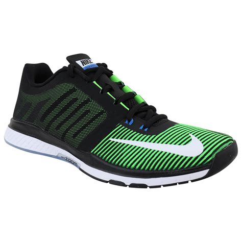 nike zoom speed tr s shoes green black white