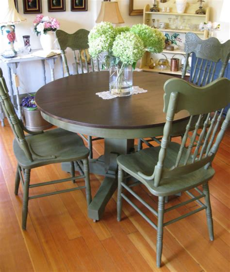 painted dining table ideas my furniture purchase for the house chalk paint