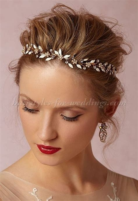 wedding hairstyles using a headband wedding hairstyles with headband on forehead www imgkid