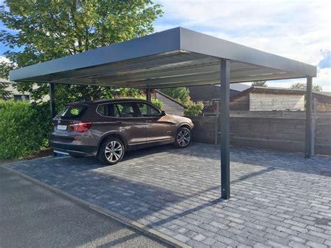 designer carport metall die besten 25 doppelcarport metall ideen auf