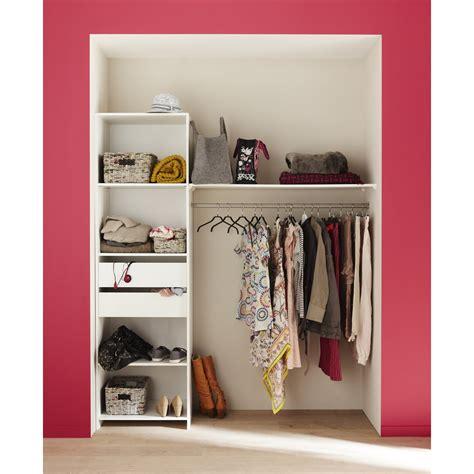 Kit Dressing Pas Cher 1524 by Kit Dressing Blanc Modul Kit H 204 X L 180 X P 45 Cm