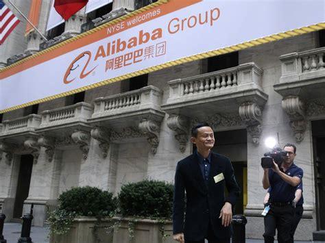 alibaba nyse alibaba nyse baba makes an impressive debut as shares