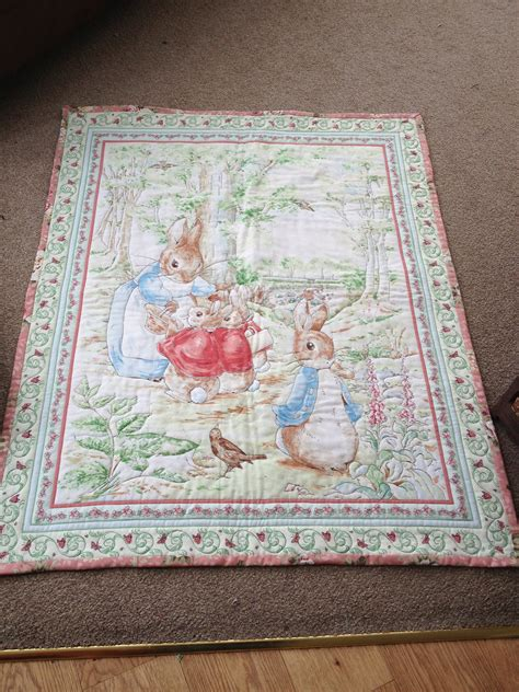 Patchwork Rabbit Pattern - rabbit quilt baby things
