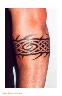 male arm band tattoos nice idea looks like celtic knots