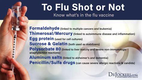flu shot reactions in children should you get a flu shot