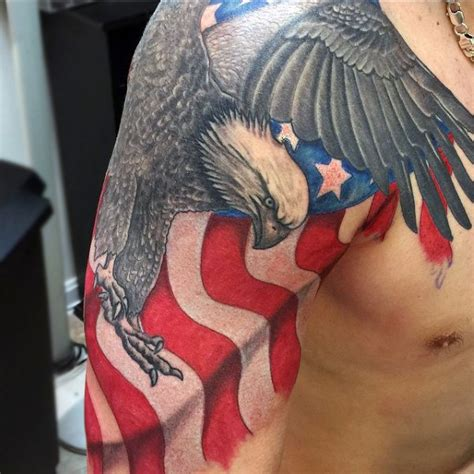 bald eagle tattoos for men 90 bald eagle designs for ideas that soar high