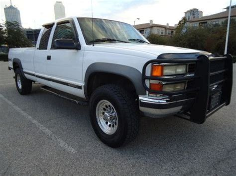 how to work on cars 1996 chevrolet 2500 auto manual buy used 1996 chevy silverado turbo diesel 4x4 auto extcab long bed runs great clean in dallas
