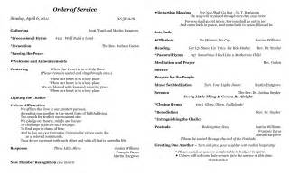 worship bulletin template order of worship church bulletin
