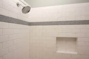 what is subway tile a work in progress tiling the shower