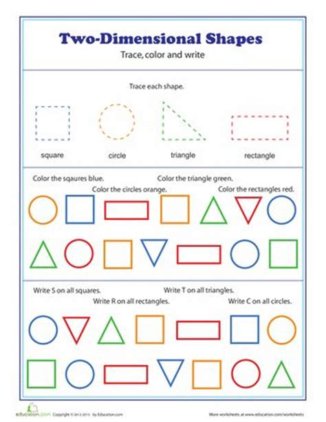 printable two dimensional shapes worksheets two dimensional shapes free printables circles and the