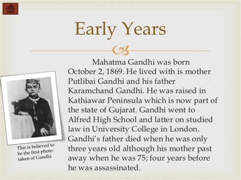 mahatma gandhi biography in english in short mahatma gandhi