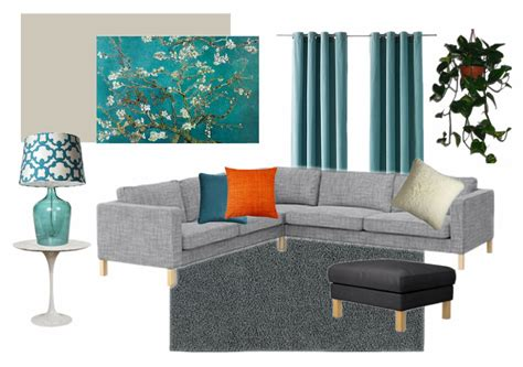 Teal Livingroom teal and gray living room creating interiors