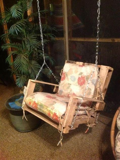 diy pallet swing 40 diy pallet swing ideas 99 pallets