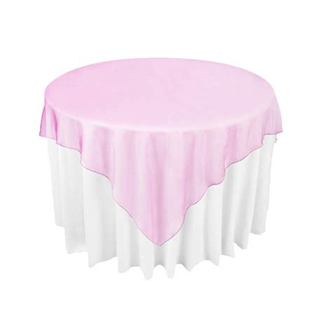 fuschia pink table cloth fuchsia pink organza table overlay cloth 72x72