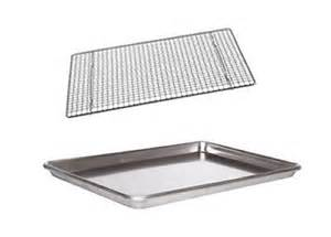 cookie sheet jelly roll pan 18 quot x13 quot wire cooling rack ebay