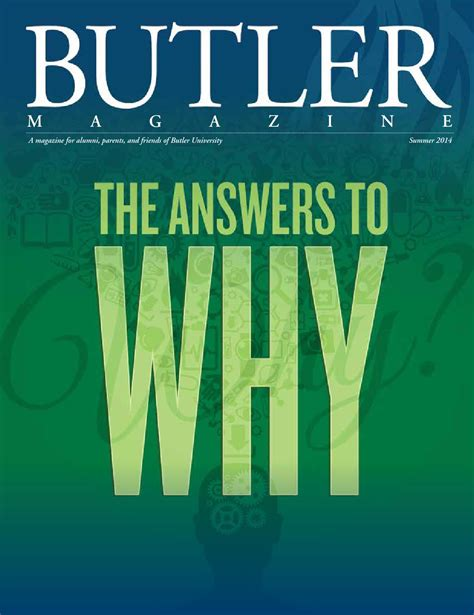 Butler Mba Admissions by Butler Magazine Summer 2014 By Butler Issuu