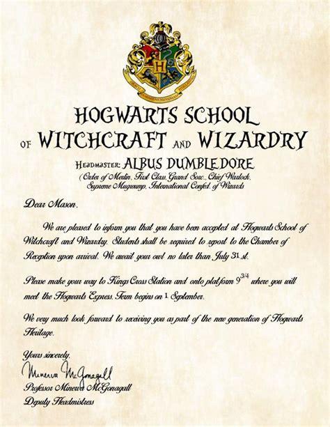 Gift Harry Potter Hogwarts Acceptance Letter Free Prop Top 101 Best Harry Potter Gift Ideas