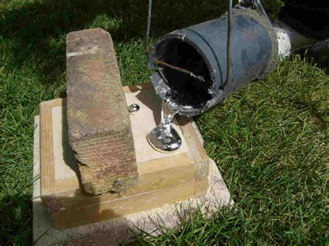 backyard metalcasting 100 backyard metalcasting the 25 best melting metal