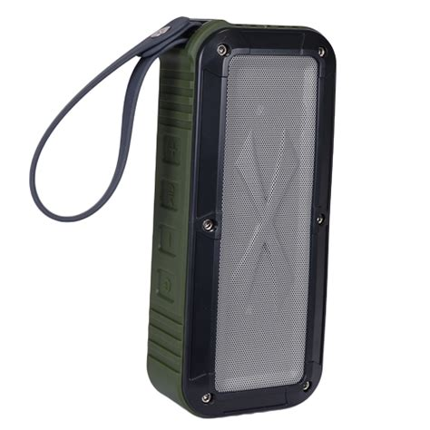 Rugged Speakers by Logisys Sp608mg Bluetooth Waterproof Rugged Speaker