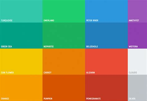 flat color combination 50 fantastic freebies for web designers january 2015