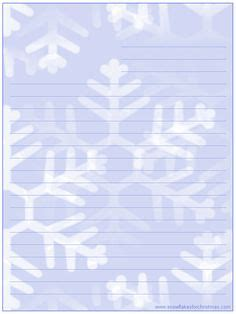 printable snowflake stationery 1000 images about christmas letter printables on