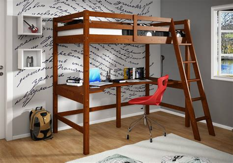 wooden loft bed with desk wooden loft bed with desk ideas home improvement 2017