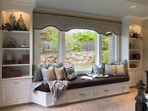 Show Homes Interiors a window seat for your cozy home