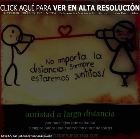 imagenes de amistad a distancia amiga a distancia frases pictures to pin on pinterest