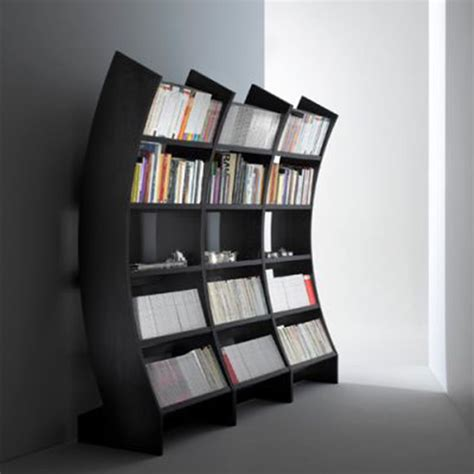 contemporary and ergonomic factor bookcases design ideas
