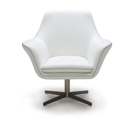 Dreamfurniture Com Divani Casa A 832 Modern Leather Swivel Chair