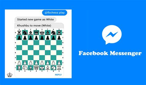 do you play in games on facebook android or iphone or how to play chess on facebook messenger app in your smartphone