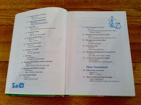 10 Day Mba Table Of Contents by Day By Day Kid S Bible Children S Bible Wesleyan