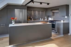 modern kitchen interior design cuisine grise profitez espace moderne 23 id 233 es sympas