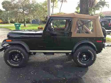 1978 Jeep Renegade Find Used 1978 Jeep Cj7 Renegade Sport Utility 2 Door 5 0l